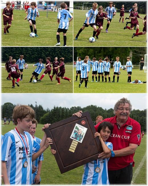 Finalspiel um den Ernst Bertam Pokal 2012 der U12 D Jugend im NVF Kreis Harburg
