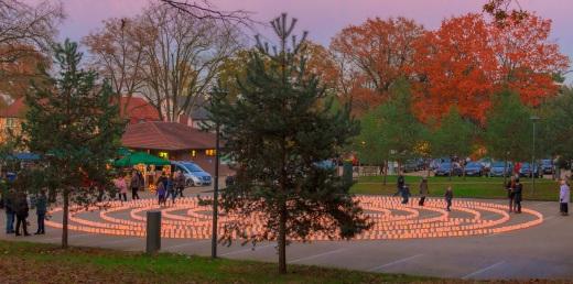 Lichterfest in Worpswede